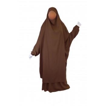 Jilbab 2P Jupe - Cannelle 5 - Wool Peach - Jilbeb El Bassira - 4983-B