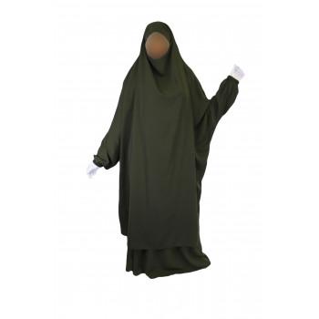Jilbab 2P Jupe - Kaki 38 - Wool Peach - Jilbeb El Bassira - 4981-B