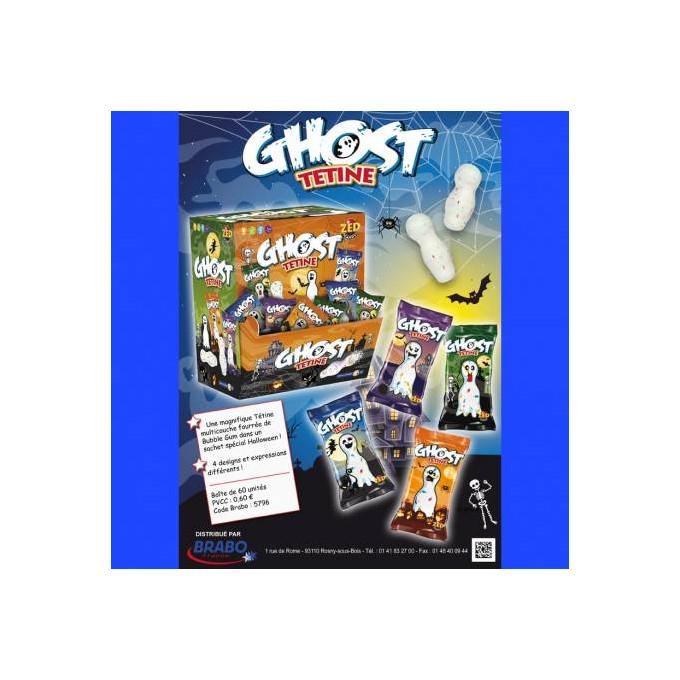 Bonbons - Ghost Tetine - Zed Candy - Halal