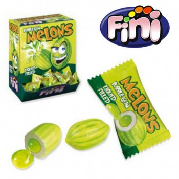 Bonbons - Melons - Bubble Gum - Fini - Halal