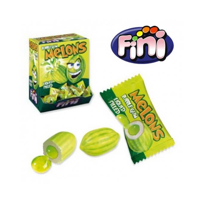 Bonbons - Melon Coeur Liquide - Bubble Gum - Fini - Halal