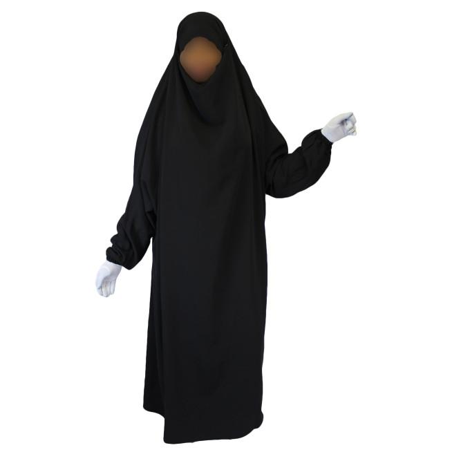 Image d'illustration - Femme habillée d'un jilbab tel celui porté par Noémie Villard. Source : Al Hidayah