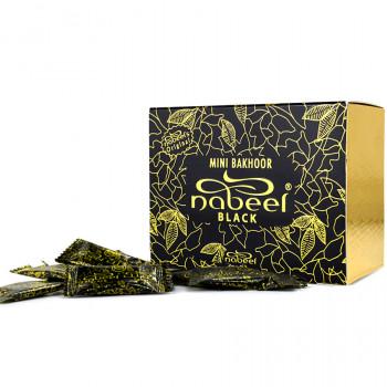 Mini Bakhour Nabeel Black - Boite 36 x 3gr - Nabeel Original