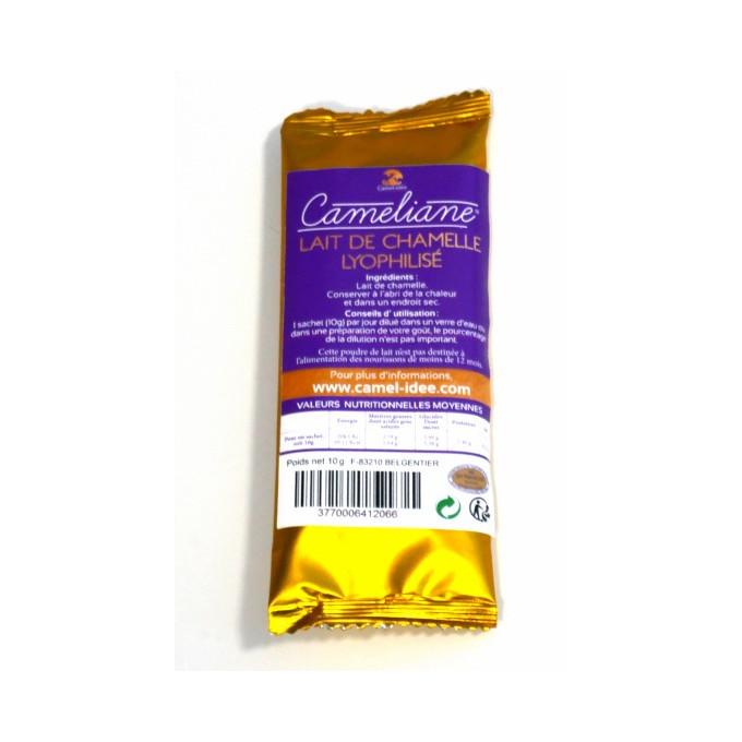Lait de Chamelle en Poudre 10g - Cameliane - Cure de 10 jours