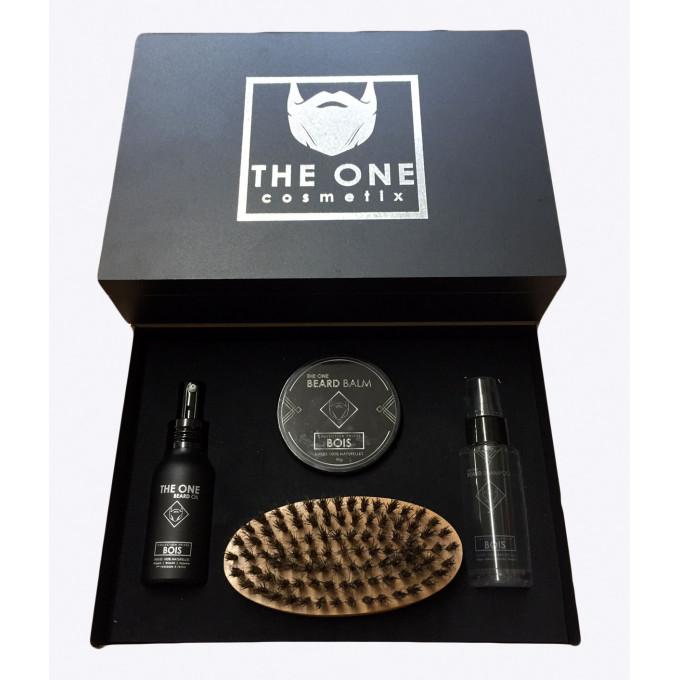 The Barber Kit - BOIS - Huiles 100% Naturelles - The One Cosmetix