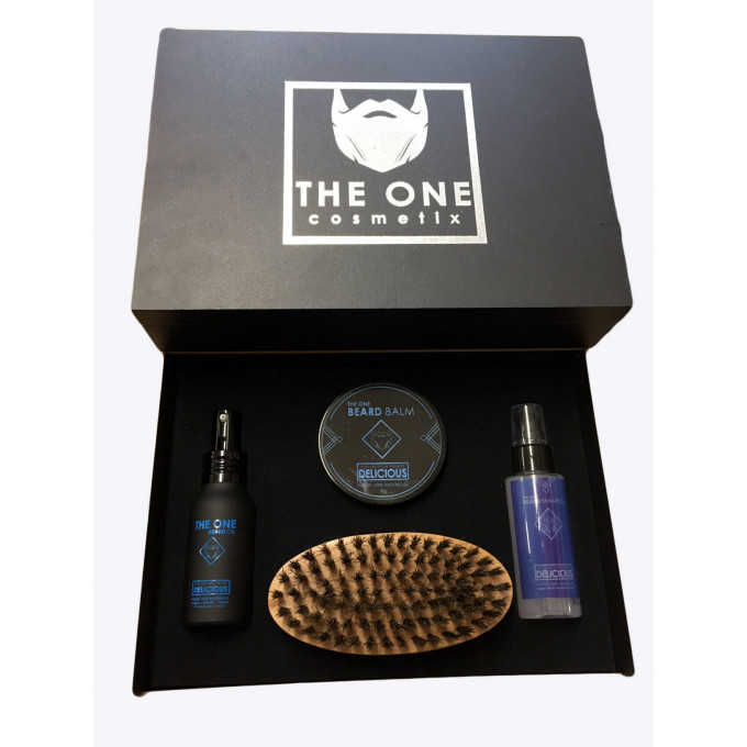 The Barber Kit - DELICIOUS - Huiles 100% Naturelles - The One Cosmetix