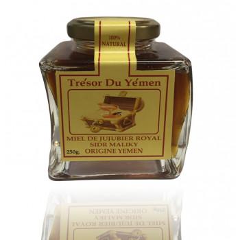 Miel de Jujubier Royal - Miel de Sidr Maliky - Origine Yemen - Trésor du Yémen - 250g