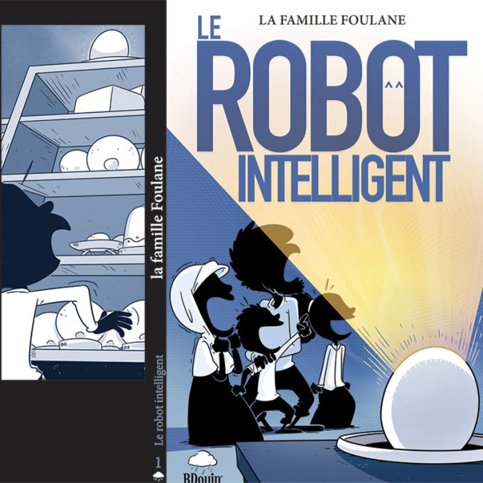 BD - Famille Foulane - Robot Intelligent - Edition Du Bdouin