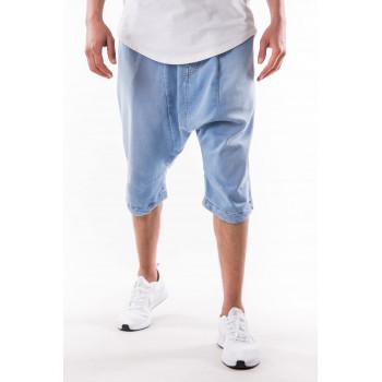 Saroual Short Jeans - BLEU BLEACH - Timssan