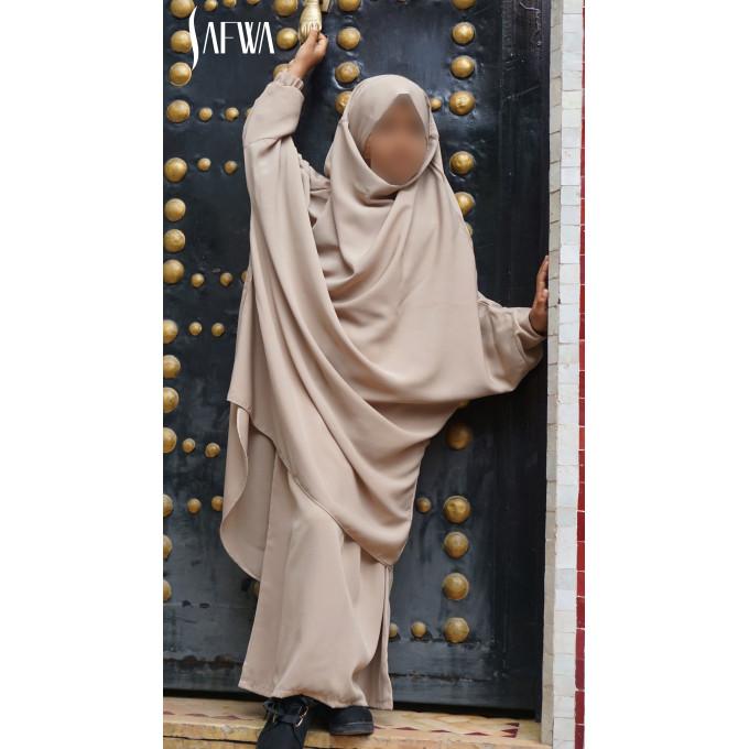 Jilbab Enfant - Beige - Safwa