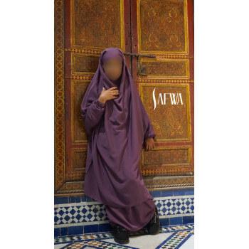Jilbab Enfant - Lila Foncé - Safwa