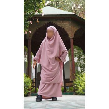Jilbab Enfant - Rose Pâle - Safwa