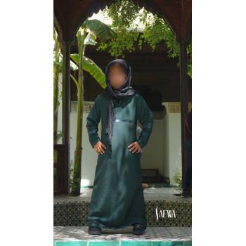 Arbaya Enfant - Vert Canard - Safwa