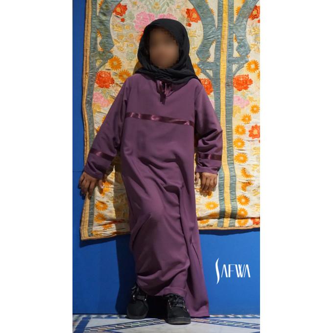 Arbaya Enfant - Lila Foncé - Safwa