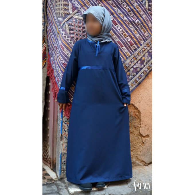 Arbaya Enfant - Bleu - Safwa