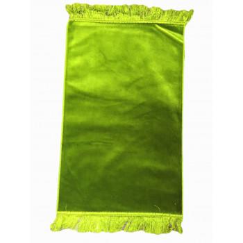Vert - Tapis de Prière Uni - Enfant - 47,50 x 87 cm