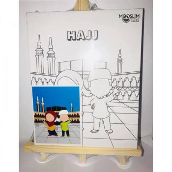 Kit Toile à Peindre - Hajj (Pèlerinage) - Mooslim Toys