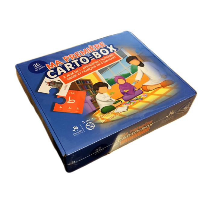 J'Apprends l'Alphabet Arabe en S'Amusant - Carto Box - Puzzle Educatif - Muslim Kid - A partir de 3 ans
