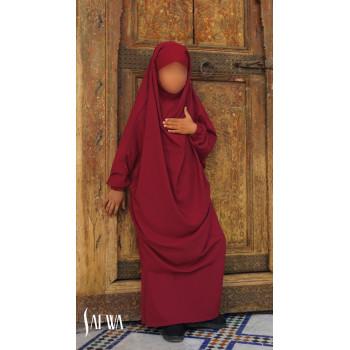 Jilbab Enfant - Rouge - Safwa