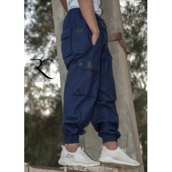 Sarouel Cargo - Bleu - Rayane