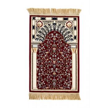 Tapis de Luxe Rouge de Médine et Mekka - Al Munawara Haram - Arabie Saoudite