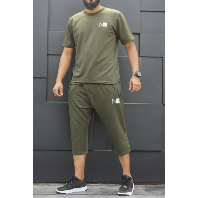 Ensemble Hybrid NIII - Vert - T-Shirt Oversize - Saroual Djazairy - Na3im