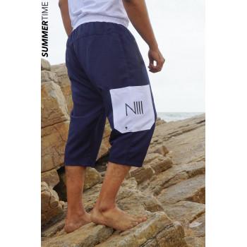 Saroual de Bain NIII - Bleu Foncé - Coupe Djazairi - Na3im