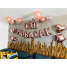 Banderole EID MUBARAK + Ballons et Etoiles - Mooslim Toys