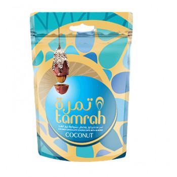 Datte Enrobé de Chocolat avec une Amande - Coconut - Datte Tamrah - 100gr