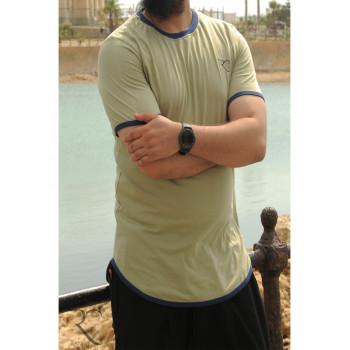 T-Shirt Oversize 100% coton - Kaki Clair - Rayane