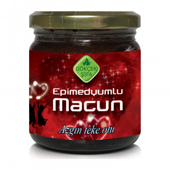 Miel Aphrodisiaque 100% Naturel - Epimedyumlu Macun - Turquie - Gökçek Sifa - 200 gr