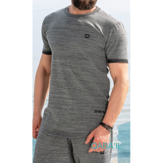 T-shirt gris foncé, Qaba'il : Nautik UP