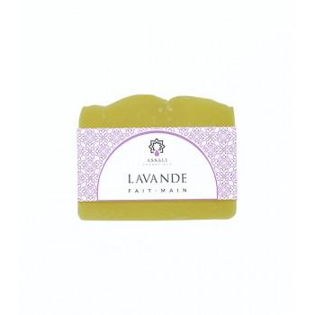 Savon Lavande - Artisanal, Fait Main - 100 gr - Assali