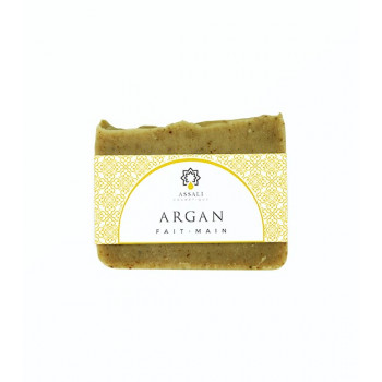 Savon Argan - Artisanal, Fait Main - 100 gr - Assali