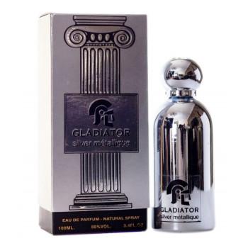 Gladiator Silver Métallique - Eau de Parfum pour Homme - 100ml