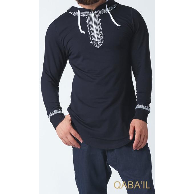 Sweat Bleu Nuit Qaba'il : Etniz Oriental