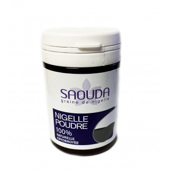 Poudre de Nigelle obtenue par Cryobroyage - 35 gr - Saouda Nigelle Sativa
