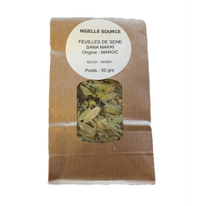 feuille-de-sene-sana-makki-tisane-100-naturel-sachet-50-grFeuille de Séné - Sana Makki - Tisane 100% Naturel - Sachet 50 gr