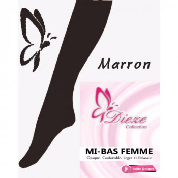 Mi-Bas Dieze Marron by UmmHafsa