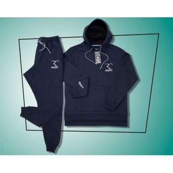 Ensemble Jogging Bleu Marine - Coupe Djazairy - 100% coton - Rayane