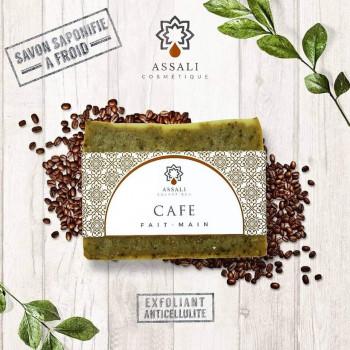 Savon Au Café - Artisanal, Fait Main - 100 gr - Assali