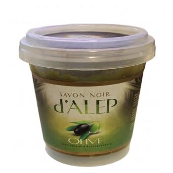 Savon Noir d'Alep à l'Olive - 100% Naturel et Biodégradable - 200 gr
