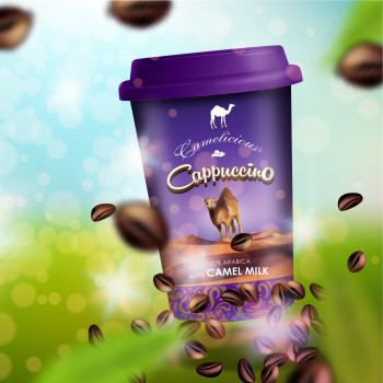 Lait de Chamelle - Cappuccino - LIQUIDE 230 ml - Camelicious