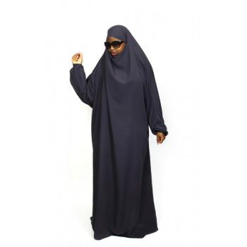 Jilbab 1P - Lila 113 - Wool Peach - Jilbeb El Bassira