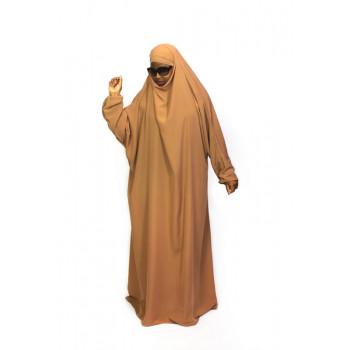 Jilbab 1P - Peach 150 - Wool Peach - Jilbeb El Bassira