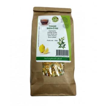 Bien Etre - Relaxantes et Apaisantes - Tisane 100% Naturel - Chifa - Sachet 100 gr