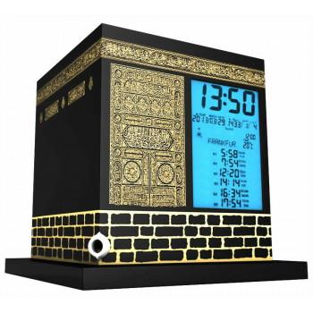 Kaaba - Horloge avec Azan et Horaires Prière - 2000 Villes