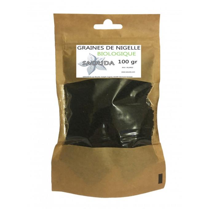Sachet de Graine de Nigelle BIO 100gr - Saouda Nigelle Sativa