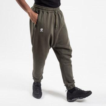 Sarouel Pantalon Jogging Basic Kaki - DC Jeans