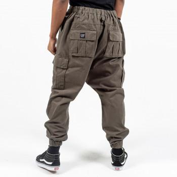 Saroual Pantalon Cargo Basic Kaki - Usual Fit - DC Jeans